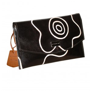 arpera Signature | Leather Clutch | 88A-1A | Black