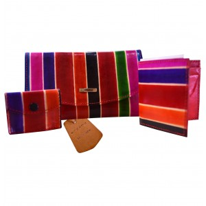 arpera Vegas |3 in 1 Leather Clutch | 88A-8D | Multicolor