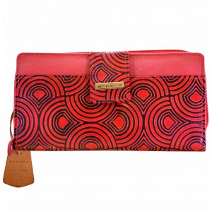 arpera  | Leather Purse | C11244-3B | Red