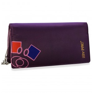 my pac Mia hand clutch purse for girls purple  C11575-72