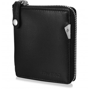 mypac-cruise Genuine Leather zip around wallet-Best gift for men-Black  C11577-1