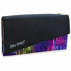 my pac Mia Clutch purse wallet for women black C11580-1