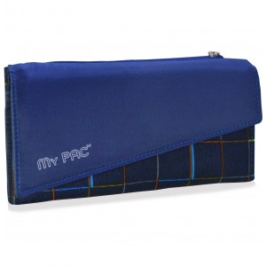 my pac Mia Clutch purse wallet for women blue C11580-5