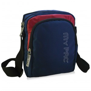 mypac-ViVaa Polyester unisex Sling bag blue C11582 -5