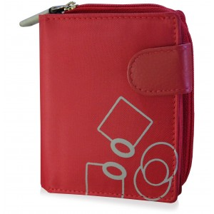 mypac Mia Zip around Clutch wallet for girls Red C11583-3