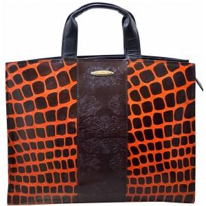 arpera | Leather Handbag | C11010-2B| Brown