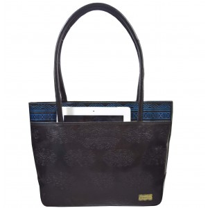 arpera | Leather Handbag | C11144-1D | Black