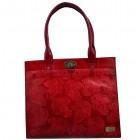 arpera   Leather Handbag   c11159-3   Red