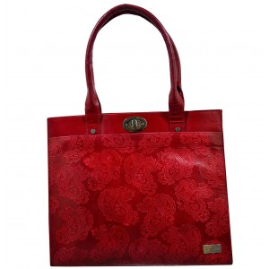 arpera | Leather Handbag | c11159-3 | Red
