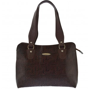 arpera | Leather Handbag | C11334-2B | Brown