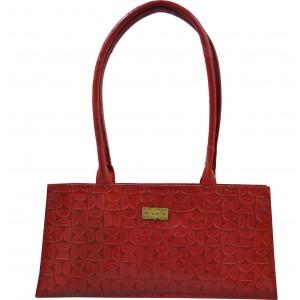 arpera | Leather Handbag | C11145-3C | Red