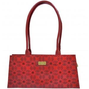 arpera | Leather Handbag | C11145-3D | Red