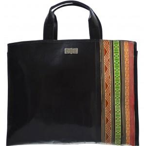 arpera | Leather Handbag | C11010-1 | Black