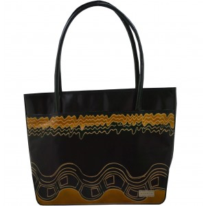 arpera | Leather Handbag | C11144-1B | Black