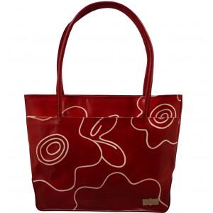 arpera | Leather Handbag | C11144-3C | Red