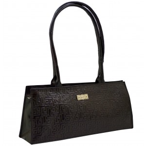 arpera | Leather Handbag | C11145-1 | Black