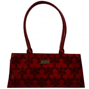 arpera | Leather Handbag | C11145-3 | Red