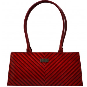 arpera | Leather Handbag | C11145-3B | Red