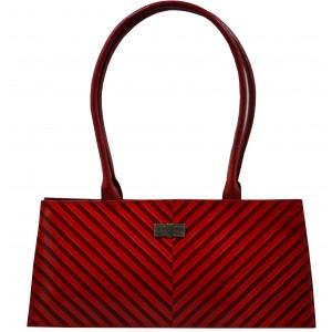 arpera   Leather Handbag   C11145-3B   Red