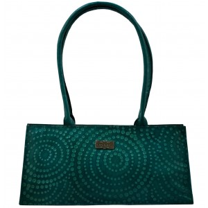 arpera | Leather Handbag | C11145-7 | Turquoise