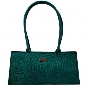 arpera   Leather Handbag   C11145-7   Turquoise