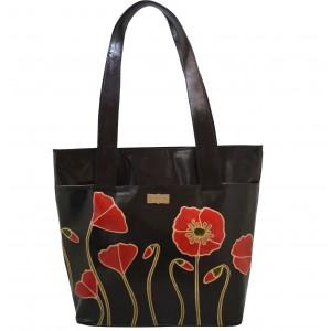 arpera | Leather Handbag | C11354-1B | Black