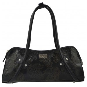 arpera | Leather Handbag | C11331-1 | Black