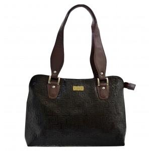 arpera | Leather Handbag | C11334-1 | Black