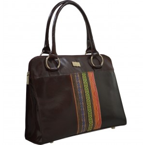 arpera | Leather Handbag | C11341-2 | Brown