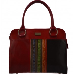 arpera | Leather Handbag | C11341-3 | Red
