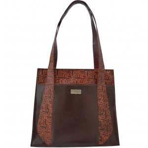 arpera | Leather Handbag | C11348-1 | Brown