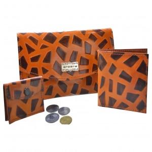 arpera | Leather Clutch | 88A-21A | Orange