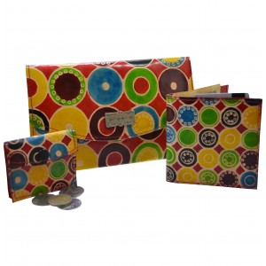 arpera |3 in 1 Leather Clutch | 88A-8C | Multicolor
