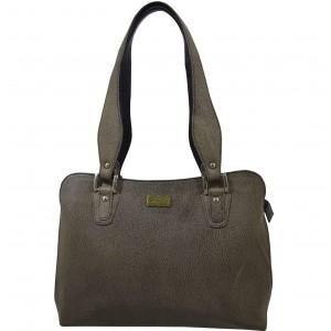 arpera | Leather Handbag | C11334-11 | Grey
