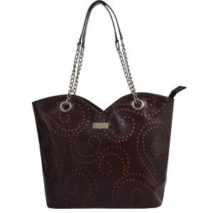 arpera | Leather Handbag | C11364-2 | Brown