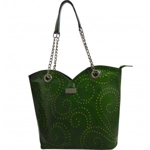 arpera | Leather Handbag | C11364-6 | Green