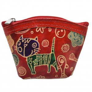 arpera  Leather Pouch C11405-3A Red