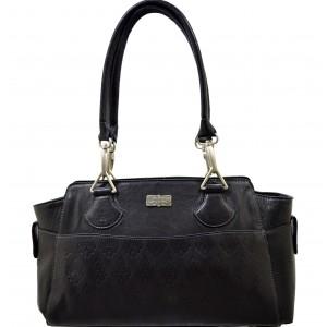 arpera | Leather Handbag | C11409-1 | Black