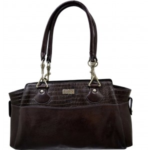arpera | Leather Handbag | C11409-2A | Brown