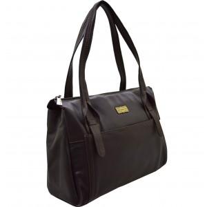 arpera | Leather Handbag | c11410-2 | chocolate Brown