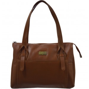 arpera | Leather Handbag | c11410-21 | Brown