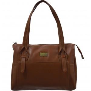 arpera | Leather Handbag | c11410-21 | Brown