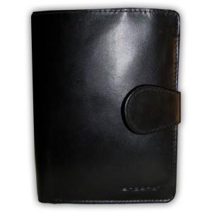arpera |   Leather Mens Wallet | C11304-1 | Black