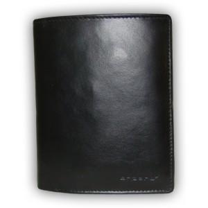 arpera |   Leather Mens Wallet | C11318-1 | Black