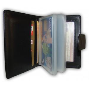 arpera   Leather Card Holder   C11321-1   Black