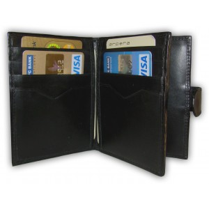 arpera | Leather Card Holder | C11323- 1 | Black