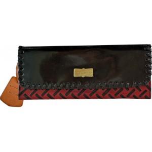 arpera   Leather Clutch   arp202-1B  Brown