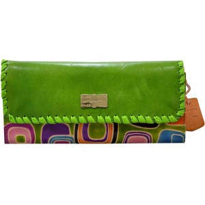 arpera | Leather Clutch | arp202-6B| green