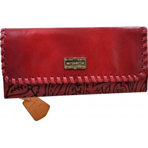 arpera | Leather Clutch | arp202-3B| Red