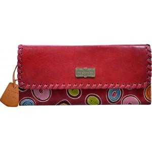 arpera   Leather Clutch   arp202-3C  Red